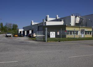 Nya fabriken i Eslöv